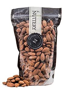 The Nuttery Freshly Dry Roasted and Unsalted Almonds - 16 ounce Pouch Bag(1lb)