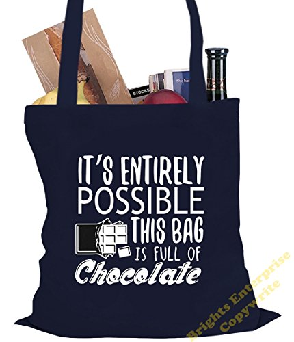 with the bag this Bag litres Tote full is from 48 of wording It's Shopping our x possible 42 cm Great tote chocoholics 10 chocolate Gym for unique entirely Blue range Size Beach 38 bag reuseable 7XnYxnP