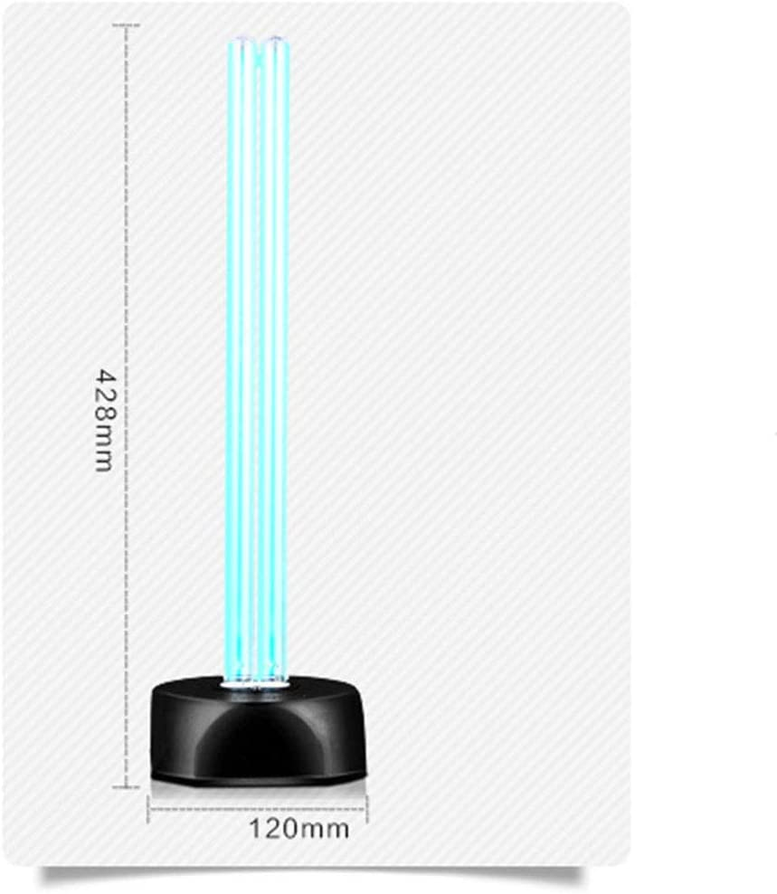 YZZR 360 /° ohne Toten Winkel UV-Desinfektionslampe Tragbare UV-Ozon-Sterilisationslampe Mobile keimt/ötende Lampe UV-C LED Desinfektionsmittel,Quarzrohr,Sterilisationsrate 99/%,f/ür zu Hause,wc,k/üche