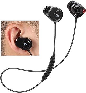 Tosuny Auriculares inalámbricos, audífonos para Auriculares Smart Sports Inear, audífonos Bluetooth con Monitor de Ritmo cardíaco, Auriculares para Correr a Prueba de Agua: Amazon.es: Electrónica
