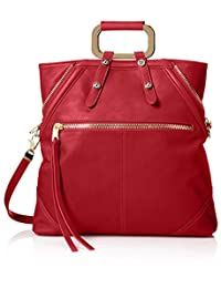 Cynthia Rowley Women's Abbey Convertible Tote, Red