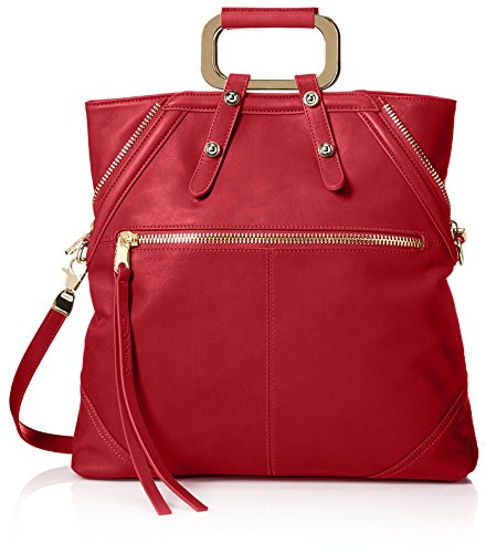 Cynthia Rowley Women's Abbey Convertible Tote, Red - Cher...