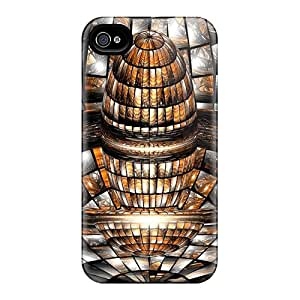 Hot 3d Art First Grade Tpu Phone Cases For Iphone 4/4s Cases Covers