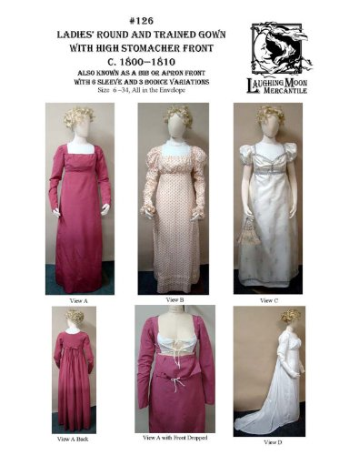 Regency Gown Pattern - 1