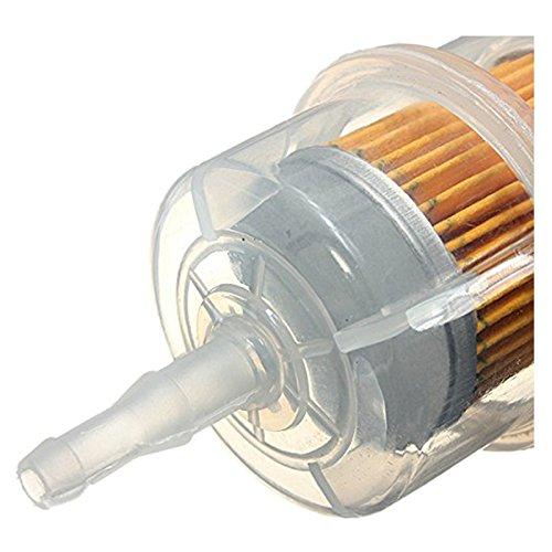 R 6mm 8mm Universal Rohr Online Filter Benzin Diesel fuer Auto SODIAL
