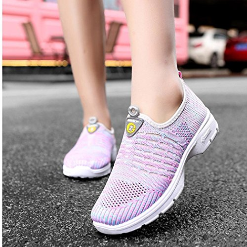 Price comparison product image Clearance! Women Mesh Shoes,  NEARTIME 2018 Fashion Casual Breathable Sneakers Slip-on Soft Running Gym Sports Shoes