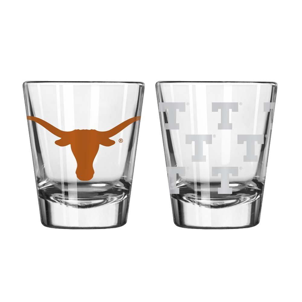 Texas Longhorns Shot Glass - 2 Pack Clear Boelter Brands 4245106199