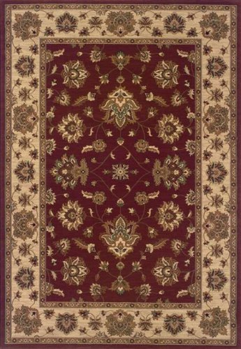 - Traditional Area Rug, Oriental Weavers Sphinx Ariana 4'x6' Red