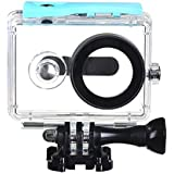 EACHSHOT® 40m Underwater Waterproof Protective Housing Case For Xiaomi Yi Action Camera (Blue)