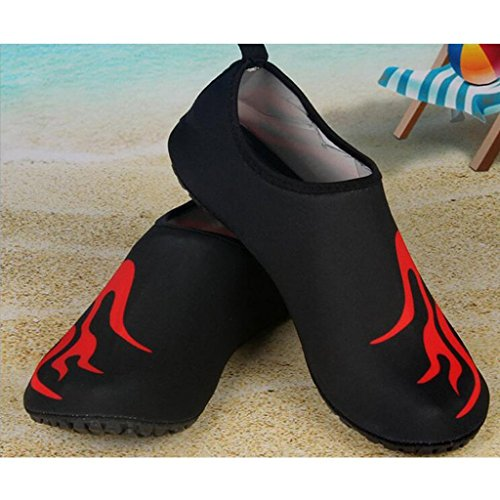 Beach Yoga Dry Water Adults Running Black Unisex Garden Driving Surf Swim Womens Quick 2 Boating Lake Park Kids Shoes and Eagsouni Aqua Mens Barefoot Walking for Socks Sports 65w1YT