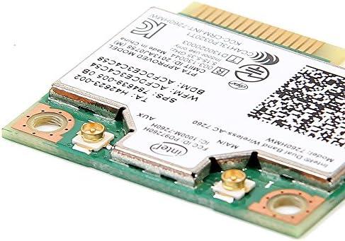 Intel 7260.HMWWB - Tarjeta de Red, Plateado