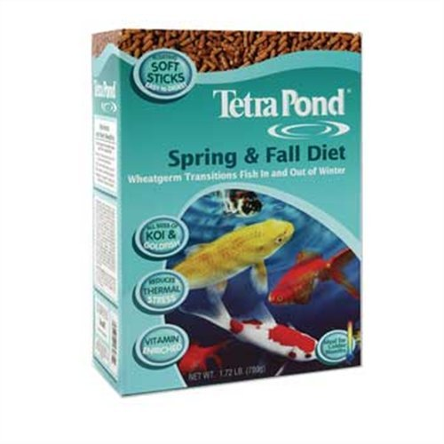 Tetra Pond Spring and Fall Diet Floating Pond Sticks, 3 Pounds, My Pet Supplies