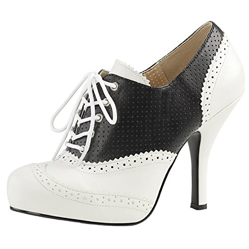Heels-Perfect - Cerrado Mujer Weiss (weiss)