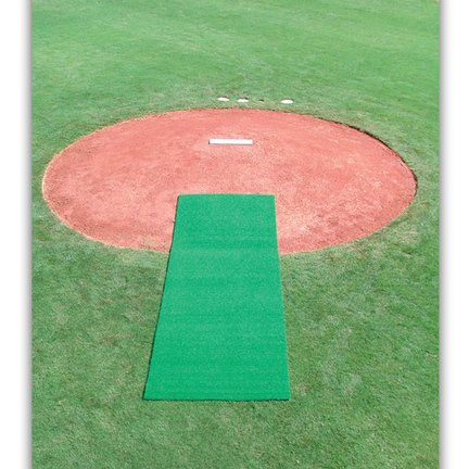 (4' x 12' Synthetic Turf Pitcher's Mat)