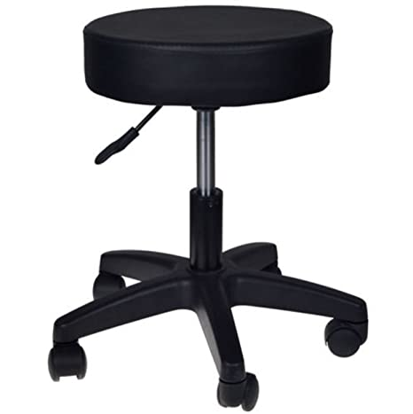 Good Black Stool Hydraulic Step Adjustable Kitchen Vanity Kids Chair Facial  Salon Massage Spa Dental Swivel Rolling