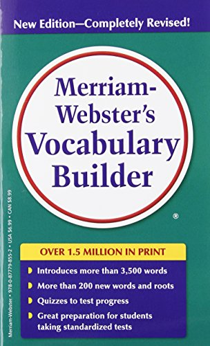 Merriam-Webster's Vocabulary Builder, Newest Ed, completely revised ()