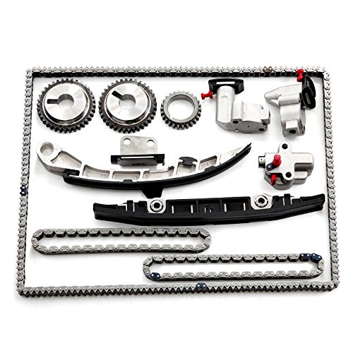 CTCAUTO Timing Chain Kit for 2010 2011 2012 Nissan Altima 3.5L 3498CC 213Cu. in. V6 Gas DOHC Naturally Aspirated