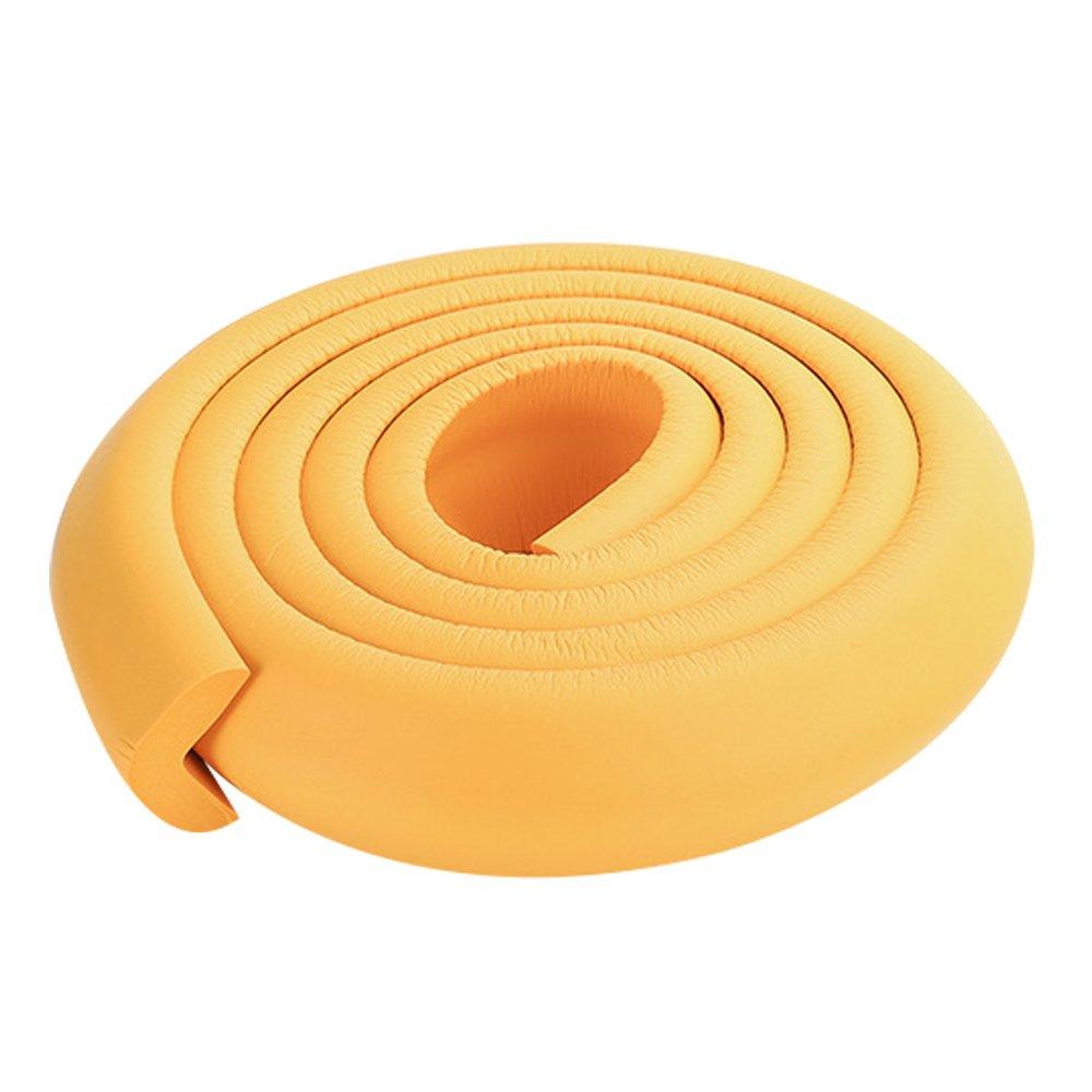 2x2m / protecteurs de coin de comptoir de pare-chocs en mousse 13ft épaissies protecteurs orange coin table à manger pour enfant AUTULET