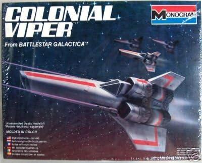B000NN8MKO Battlestar Galactica Colonial Viper Model Kit 51EomNbWY5L