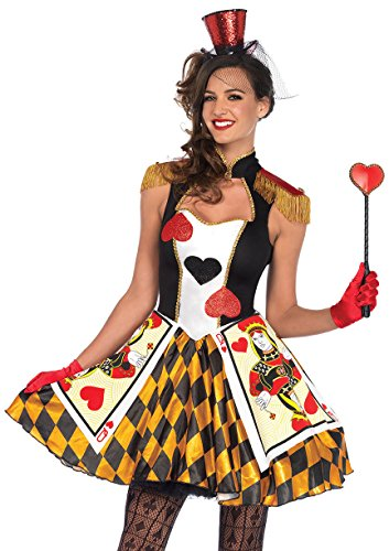 [Queens Card Guard Adult Costume (Small 4-6)] (Queens Guard Costume)