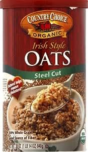 Country Choice Organic Steel Cut Irish Style Oats -- 30 oz