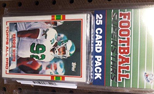 Philadelphia Eagles Football Card - 25 card pack nfl football philadelphia eagles different superstars starter kit
