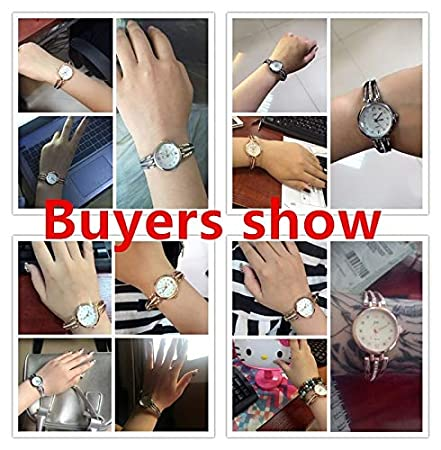 Amazon.com: BranXin - New and New Fashion Rhinestone Watches Women Luxury Brand Stainless Steel Bracelet watches Ladies Quartz Dress Watches reloj mujer ...