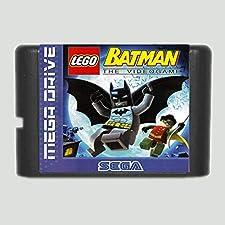 16 Bit Sega MD Game - Lego Batman 16 bit SEGA MD Game Card For Sega Mega Drive For Genesis - Sega Genniess , Sega Ninento , Sega Mega Drive