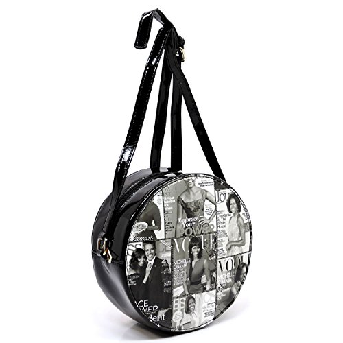 bags crossbody Body Glossy purses cover magazine bag Obama 2 clutches Michelle wallets collage Cross and ttwPAqB