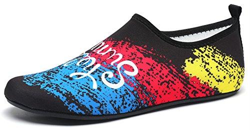 Aqua Women Shoes Barefoot Water Men Dry blue568 Quick VanciLin and Bk TqExpwYFE
