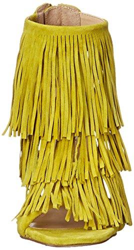 STEVE MADDEN FRINGLY - Sandalias para mujer Yellow