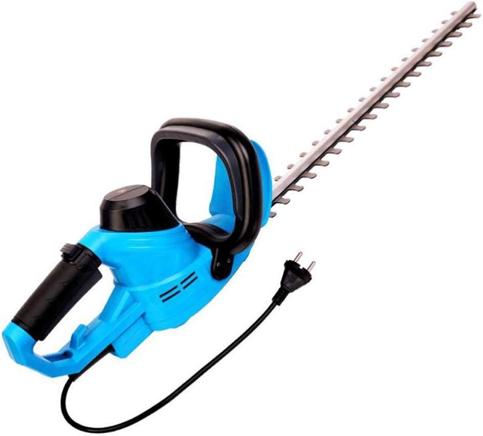 M-YN Cortasetos eléctrico 450W eléctrica Cortasetos/Cortador con 58 cm de la Hoja de la Cubierta de la Hoja + 10m y Cable