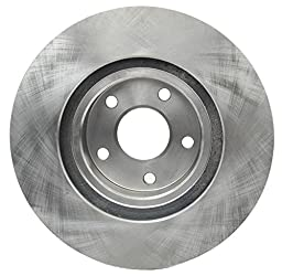 ACDelco 18A835A Advantage Non-Coated Front Disc Brake Rotor