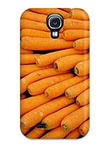 Fashion Tpu Case For Galaxy S4- Carrots Everywhere Defender Case Cover