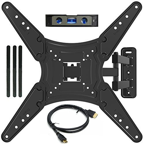 Everstone TV Wall Mount Full Motion Bracket for 23-55