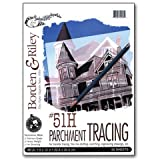 Borden & Riley - #51H Monroe Heavyweight Parchment Tracing Paper Pad - 11'' x 14''