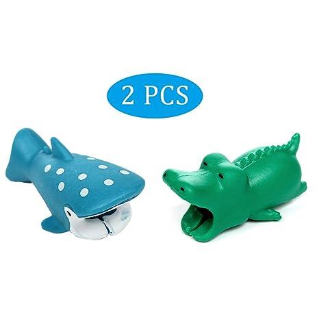 2 Paquetes] Protector de Cable USB, Protector Cargador Cubre ...
