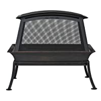 CobraCo FB6200S Steel Fireplace Fire Pit