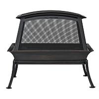 CobraCo FB6200S Steel Fireplace Fire Pit
