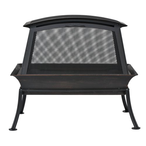 Big Save! CobraCo FB6200S Steel Fireplace Fire Pit