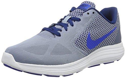 competitive price 94af4 f0b24 Galleon - Nike Men s Revolution 3 Running Shoe, Cool Blue Hyper Cobalt, 13  M US