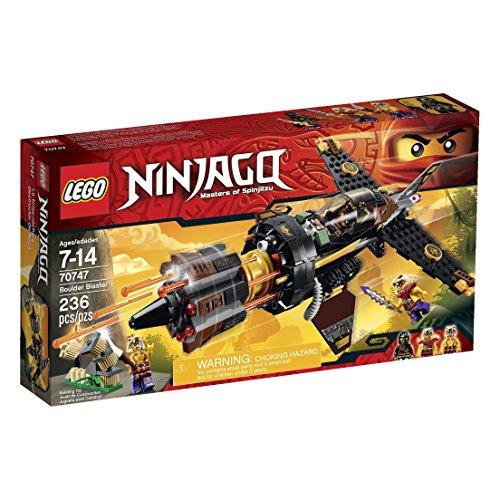 LEGO Ninjago Boulder Blaster Toy (4 Ninjago Sets Lego Season)