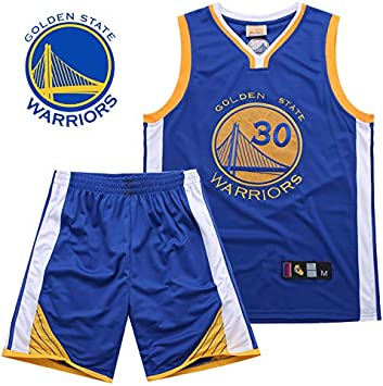 DEBND Hombre NBA Warriors NO.30 Curry Retro Pantalones Cortos de ...