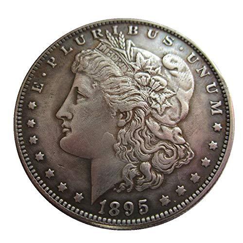 - jooact 1895-S USA Morgan Dollar Coins Copy for Keychain Pendant & Home Decor