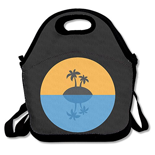 sunset-paradise-a-leisurely-life-outdoor-carrying-lunch-bag