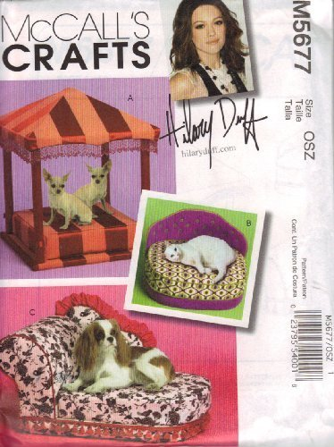 - McCall's Crafts Pattern M5677 Pet Beds