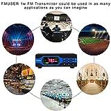 FMUSER 1W Low Power FM Radio Transmitter, 0-1W