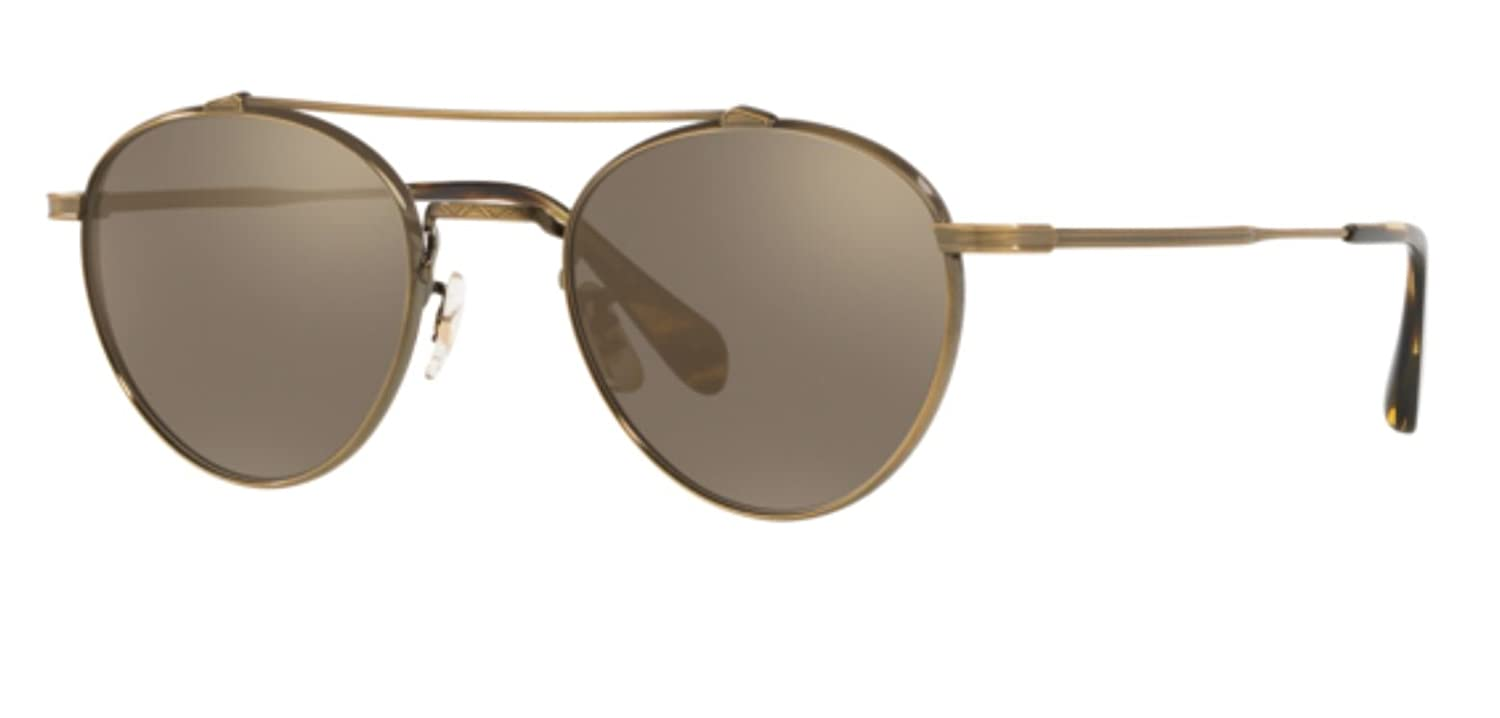 Authentic Oliver Peoples 0OV 1223 ST WATTS SUN 51246G ANTIQUE gold Sunglasses