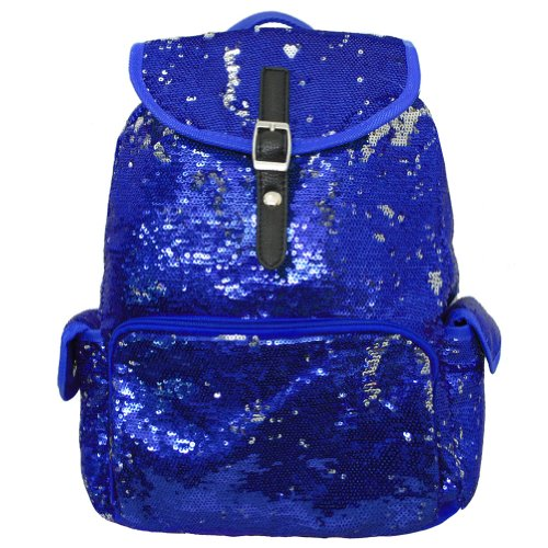 Glittery Sequined Drawstring Backpack Bookbag (Sequined Drawstring)