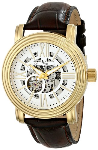 Lucien Piccard Men's LP-11912-YG-02S Domineer Analog Display Chinese Automatic Brown Watch